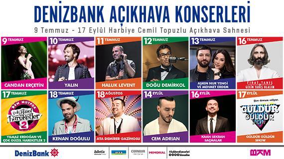 DenizBank Açıkhava Konserleri